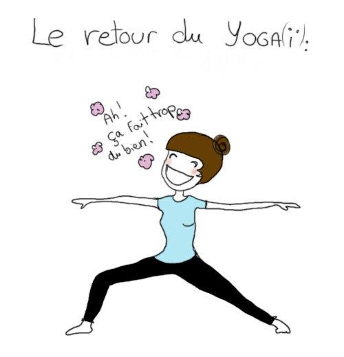 image drole yoga