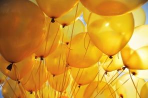 yellow-ballons